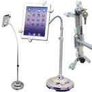 Universal Anti-Theft Tablet PC/iPAD/e-Reader Secure Floor Display Stand - Lockable - Key Locked