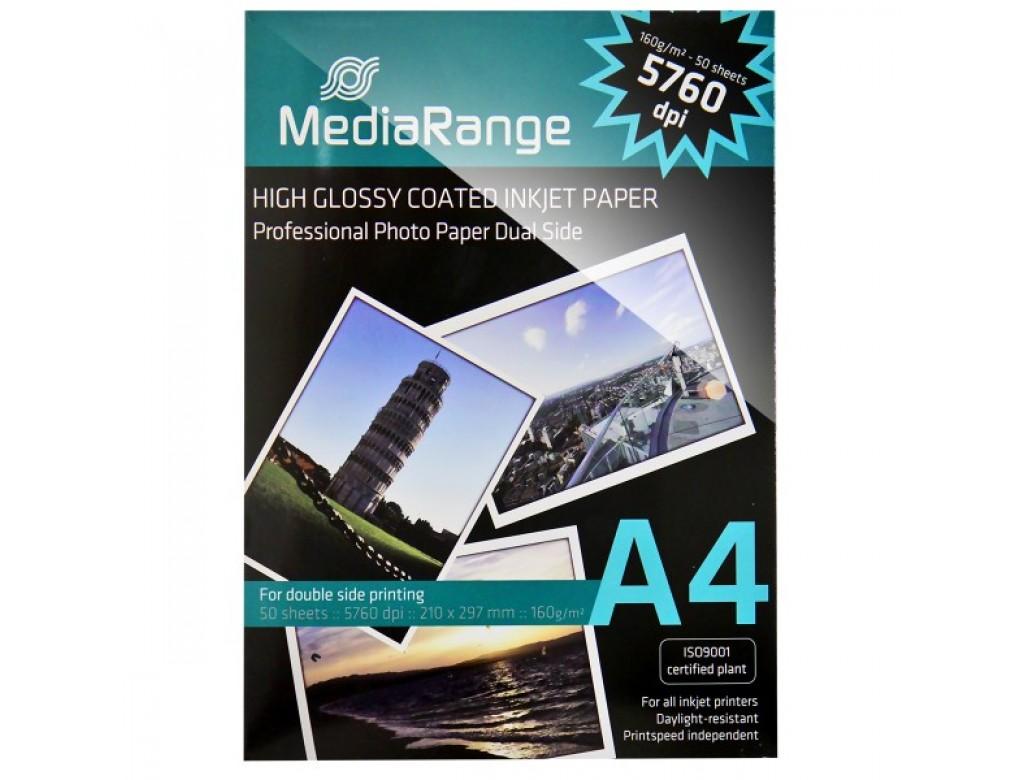 Mrink108 Mediarange Gloss Double Sided Inkjet Paper A4