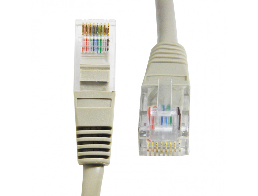 Cat 5e 1 Metre Straight Wired Network Cable