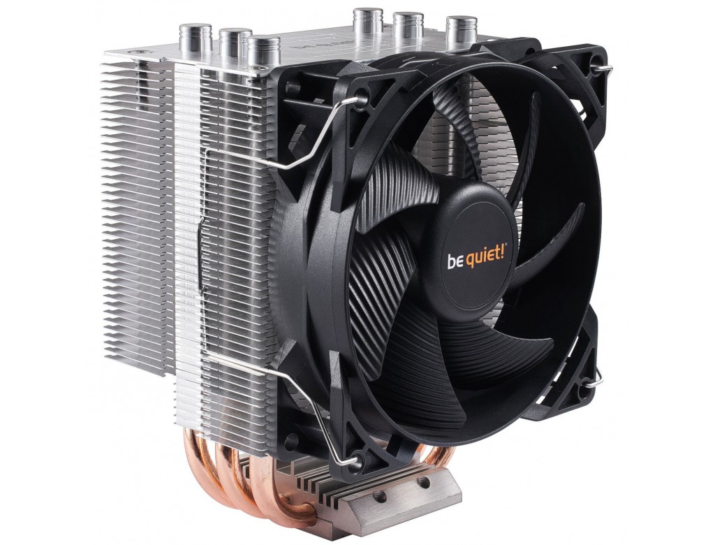 Cpu Air Cooler : Bk be quiet pure rock slim compact intel amd cpu