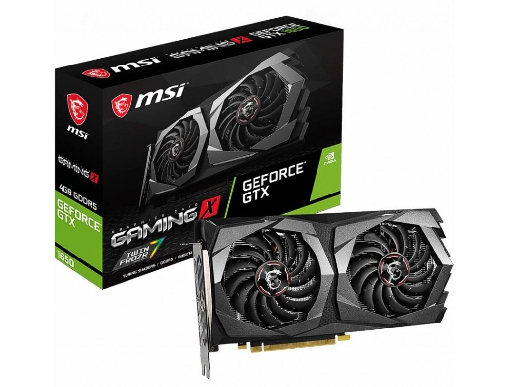 MSI NVIDIA GeForce GTX 1650 4GB GAMING X Turing Graphics Card
