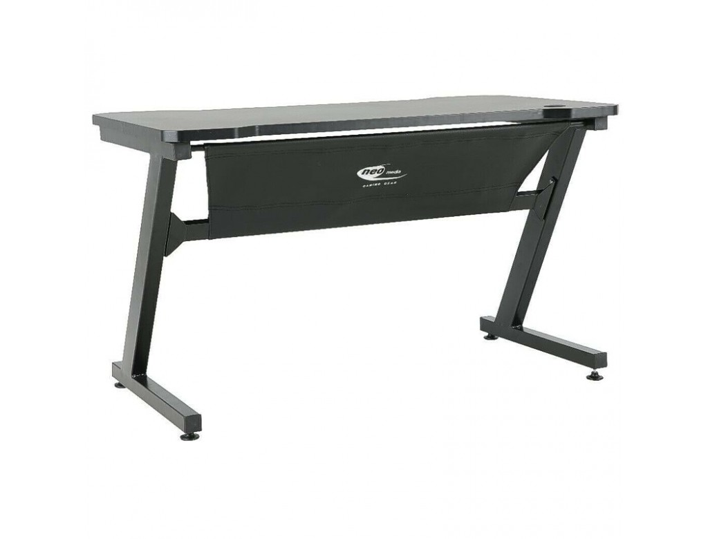 Black Gaming Table Desk Laptop Pc Workstation By Neo