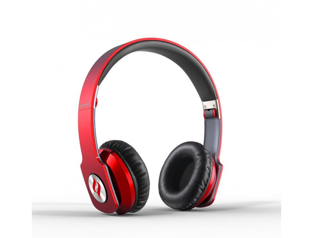 Noontec Zoro RED Professional Headphones for Music Fans!