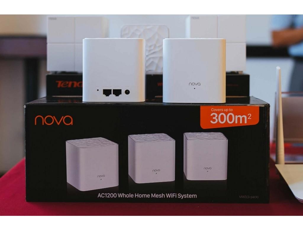 Tenda Nova Mw3 Mesh System 3 Pack Nova Mw3 3 Pack