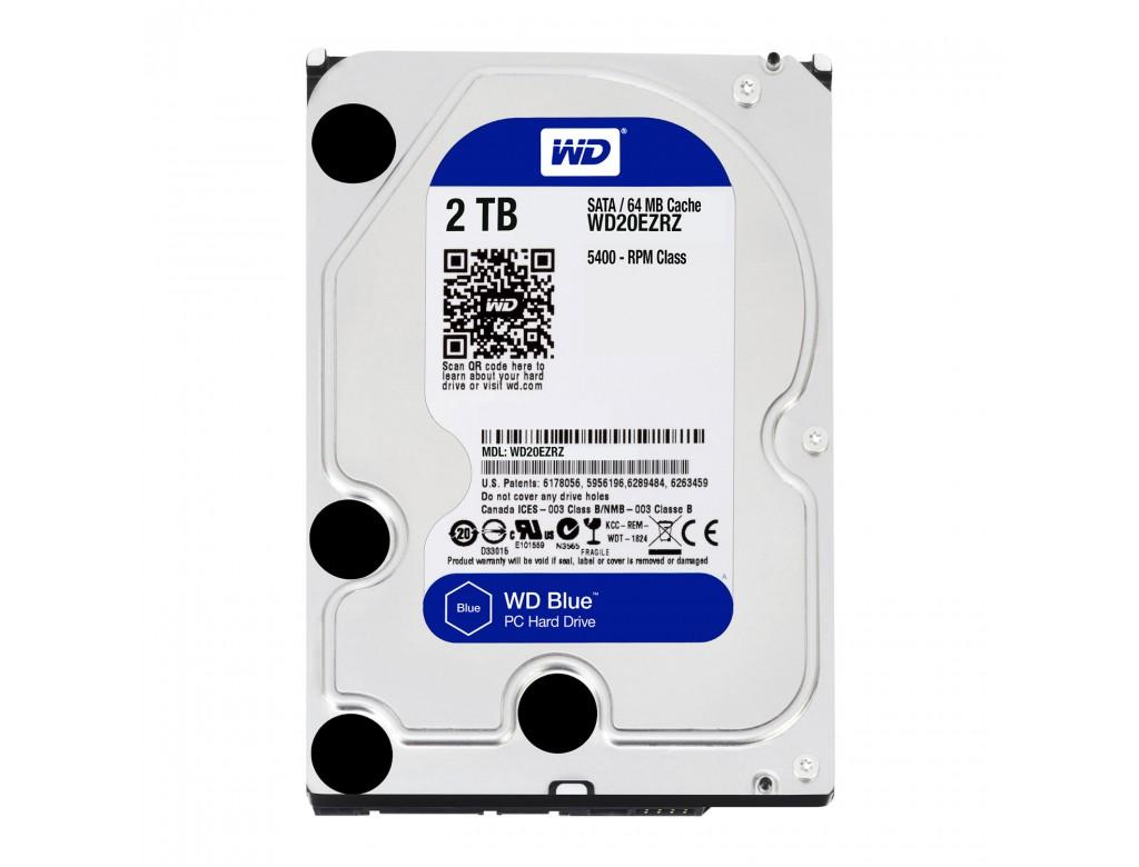 """2TB Western Digital WD20EZRZ WD Blue, 3.5"""" HDD, SATA III ..."""