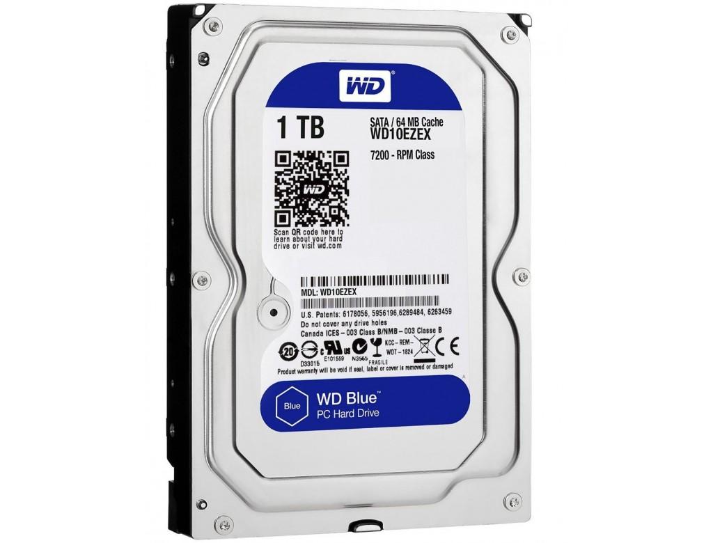 Western Digital 1TB Blue Hard Drive - WD10EZEX - Digitalpromo