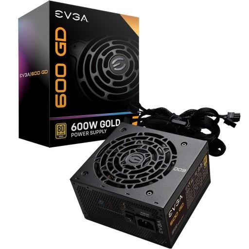 EVGA 600 GD 600 Watt 80+ Gold Rated Power Supply / PSU
