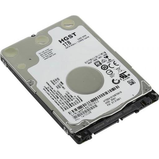 """HGST 1TB Travelstar 5400RPM SATA 2.5"""" 7mm Slim Z5K1 Laptop/Notebook Hard Drive - 1W10028"""