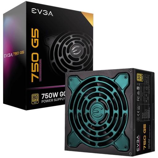EVGA SuperNOVA G5 750 Watt Fully Modular 80+ Gold Rated Power Supply / PSU