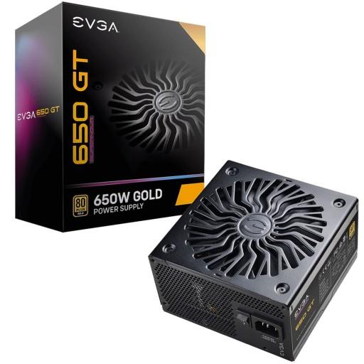EVGA SuperNOVA 650 GT 80 PLUS Gold 650W Fully Modular ATX Power Supply