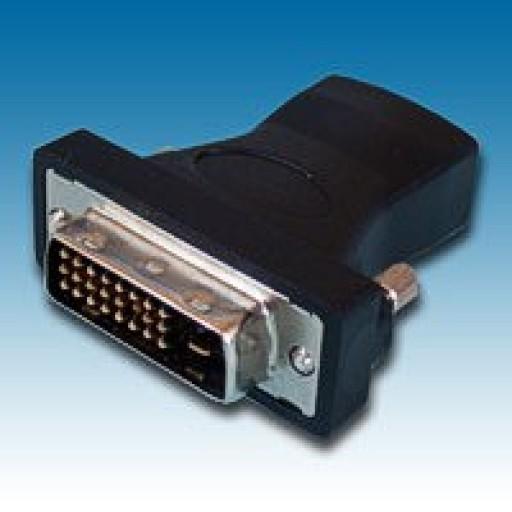 HDMI SKT to DVI PLUG (24+KEY) Adaptor - 261-2788