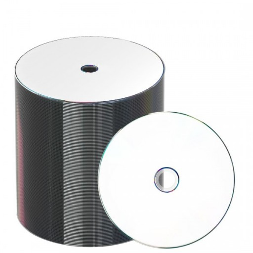 Taiyo Yuden Full Face Printable 16x DVD-R in 100 PACK - 52132