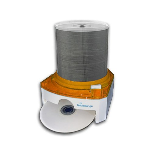 Single Disc Dispenser ~ Mediarange box dvd cd disc storage dispenser