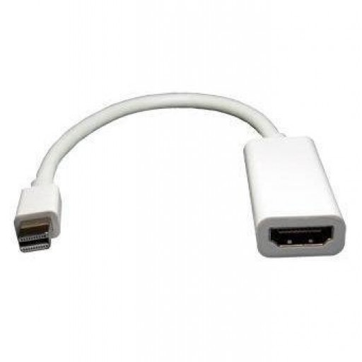 Dynamode LMS MINI DisplayPort (DP) to HDMI Cable Adaptor - for your Mac or PC to full HDMI output