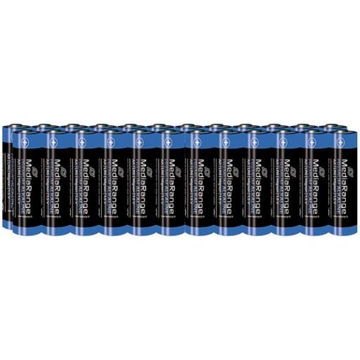 MediaRange MRBAT106 Premium Alkaline AA Type 1.5V Batteries - 24 PACK