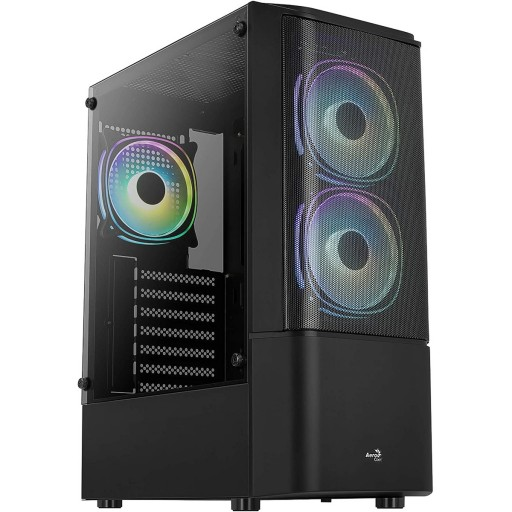 AeroCool Quantum Mesh-G V3 RGB Mid Tower Gaming Case