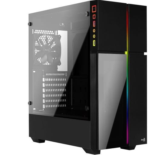 Aerocool Playa Tempered Glass RGB Midi PC Gaming Case