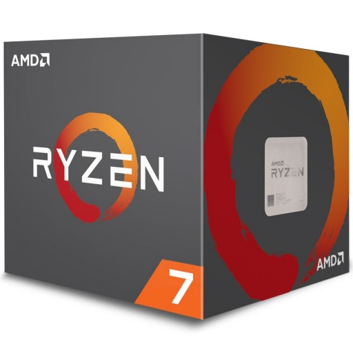 AMD Ryzen 7 2700X Gen2 8 Core AM4 CPU / Processor with RGB Wraith Prism Cooler