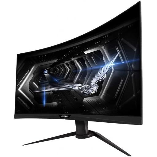 Gigabyte AORUS 27'' Quad HD 165Hz FreeSync HDR Curved RGB Pro Gaming Monitor