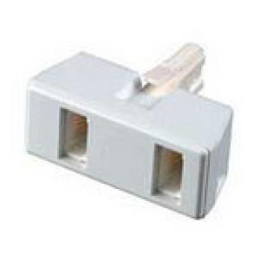 BT Dual Outlet Adaptor
