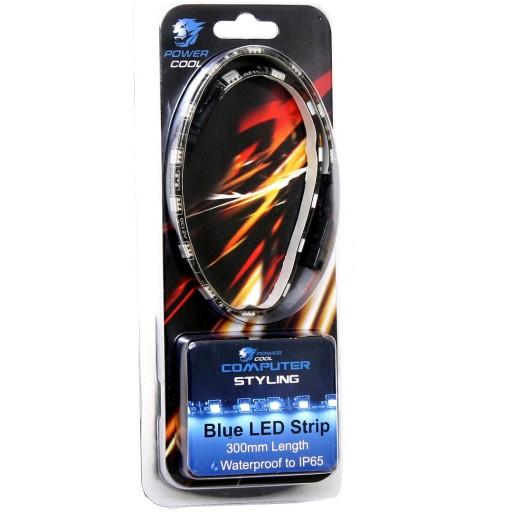 Powercool 30cm Blue 18pcs LED Strip - PC Case Styling - BLUE