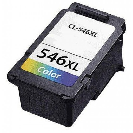 Remanufactured High Capacity Canon CL-546XL Colour Ink Cartridge