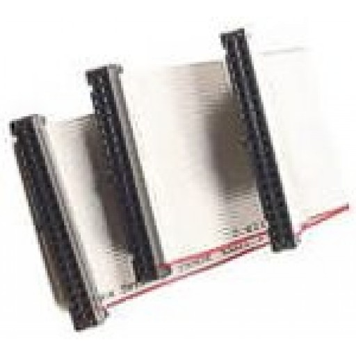 ATA66 Double IDE Flat 45cm Ribbon Cable. (CL315)