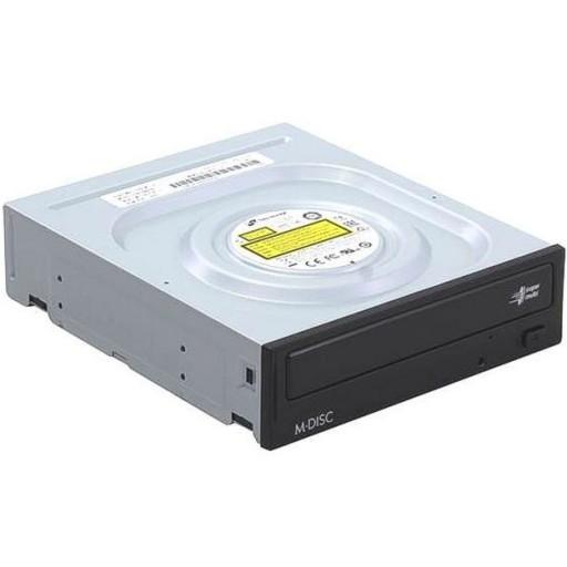 LG GH24NSD1 SATA 24x Internal DVDRW Tray Loading Optical M-DISC Drive - OEM