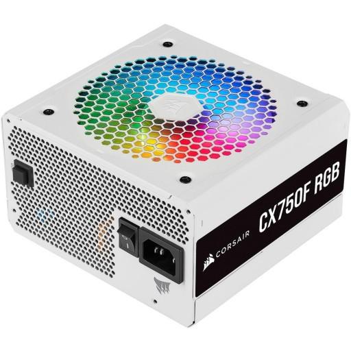 Corsair 750 Watt CX750F RGB Fully Modular White PSU / Power Supply