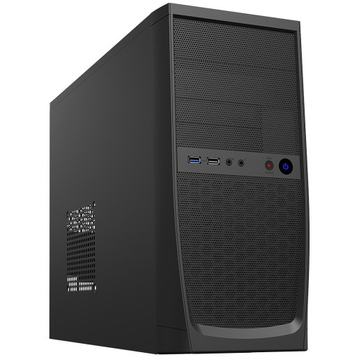 CiT Elite Micro ATX PC Case with 500W PSU / Power Supply