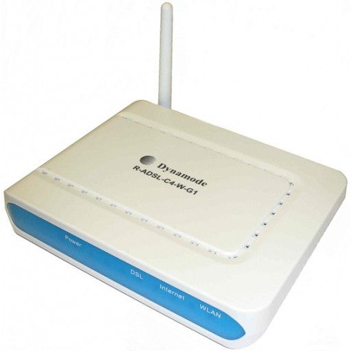 Dynamode C4W-G1 54Mbps Wireless 802.11b/g ADSL2+ GameFriendly Router with 4 Ports - Retail