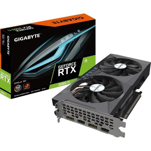Gigabyte NVIDIA GeForce RTX 3060 Ti 8GB OC EAGLE V2 LHR Ampere Graphics Card