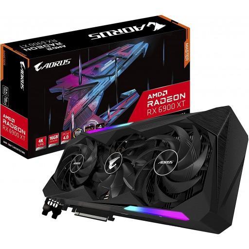 Gigabyte AORUS AMD Radeon RX 6900 XT MASTER 16GB Graphics Card