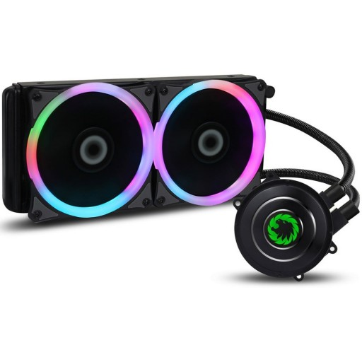 Game Max Iceberg 240mm Water Cooling System with 7 Colour PWM Fan