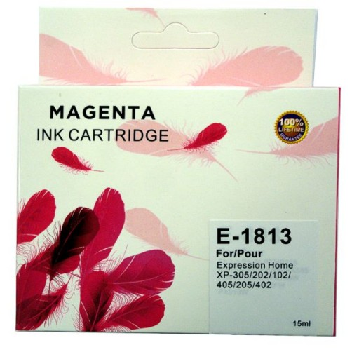 Epson E-1813 MAGENTA Cartridge Ink for Expression Home XP-102,202,205,305,402,405