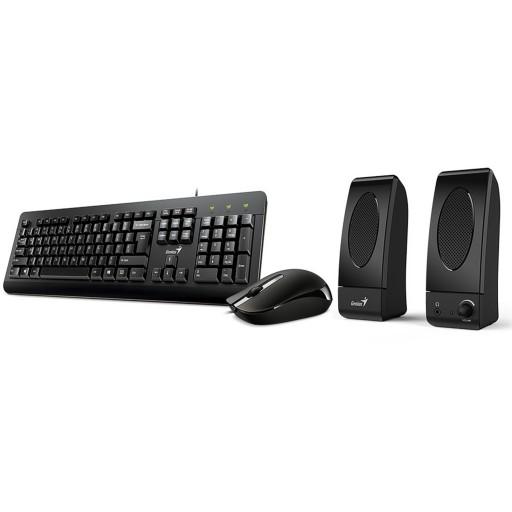 Genius KMS-U130 Keyboard Mouse and Speaker Combo Kit