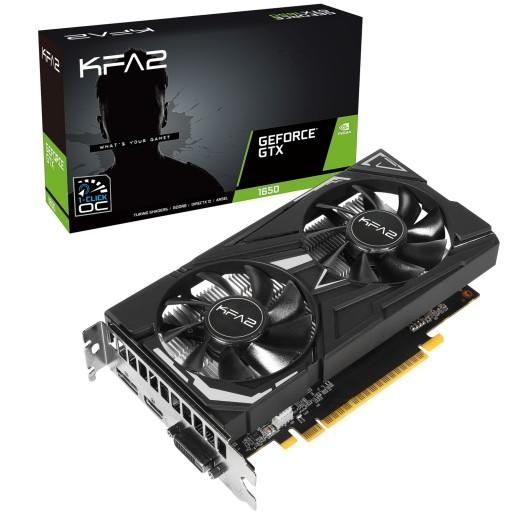 KFA2 Nvidia GeForce GTX 1650 EX PLUS 4GB 128-bit GDDR6 PCIe Turing Graphics Card