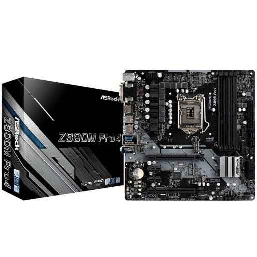 ASRock Intel Z390M Pro4 Intel 9th Gen MicroATX Motherboard