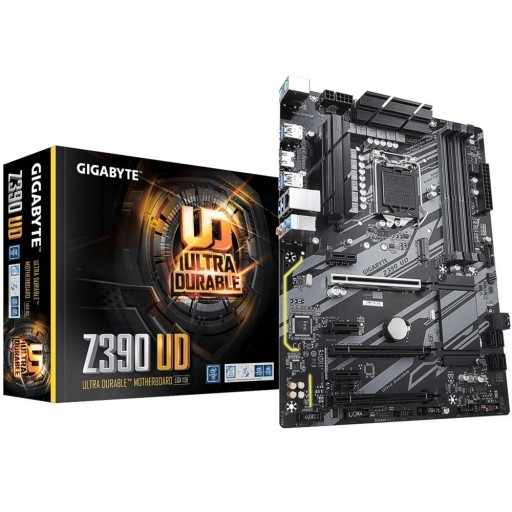 Gigabyte Intel Z390 UD Intel 9th Gen ATX Motherboard