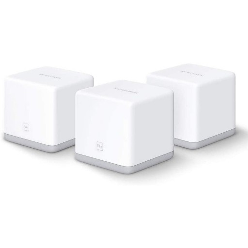 Mercusys HALO S3 Whole Home Mesh Network Wi-Fi System, 3 Unit Pack, 300Mbps, 2 x LAN on Each Unit