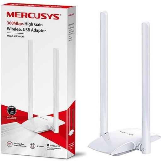 Mercusys MW300UH Dual Antenna High Gain USB Network Adapter