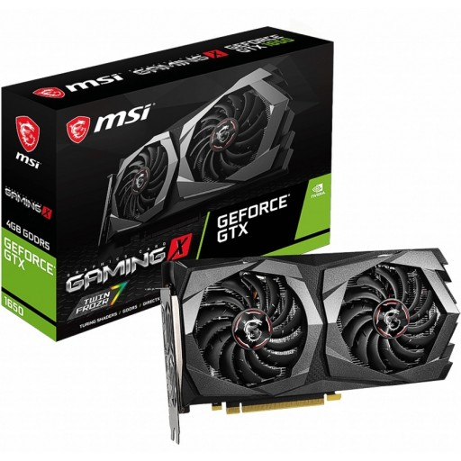 MSI NVIDIA GeForce GTX 1650 4GB GAMING X Turing Graphics Card