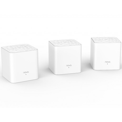 Tenda Nova MW3 Router / Whole Home Mesh WiFi System - 3 Pack - Cover up to 3,000 sq. ft.