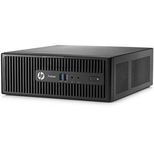HP Refurbished Grade A - HP400 G2.5 SFF PC Intel i3, 4GB RAM, 500GB HDD, Windows 10 Pro + Free MS Office 2007
