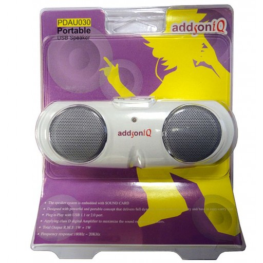 Addon PDAU030 Portable Digital USB Speaker System