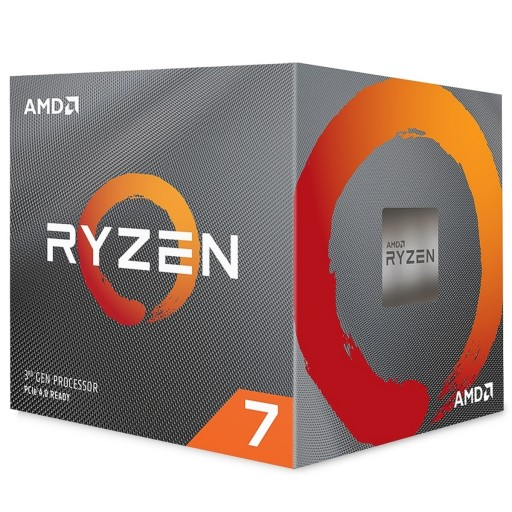 AMD Ryzen 7 3700X Gen3 8 Core AM4 CPU / Processor with Wraith Prism RGB Cooler