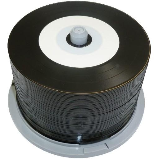 Ritek Pro Series Vinyl Retro Look Inkjet Printable 80min / 700MB CD-R with BLACK Dye - 50 TUB