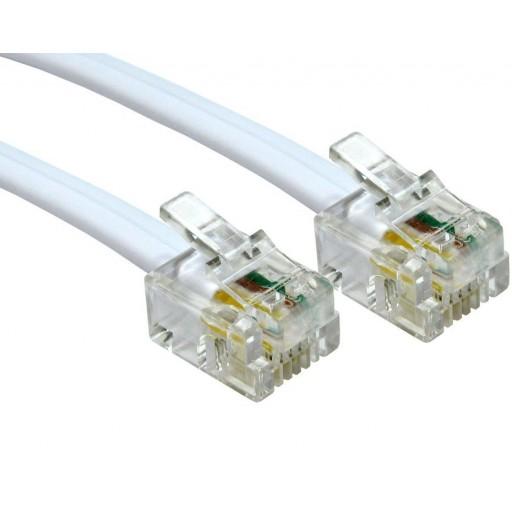 RJ11 to RJ11 ADSL Cable - 5 Metre Length