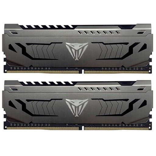 Patriot Viper Steel Series DDR4 32GB (2 x 16GB) 3000MHz Kit with Gunmetal Grey Heatshield