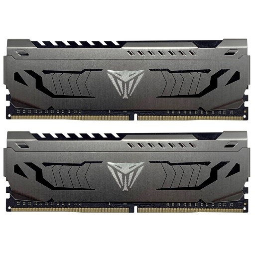 Patriot Viper Steel Series DDR4 32GB (2 x 16GB) 3200MHz Kit with Gunmetal Grey Heatshield